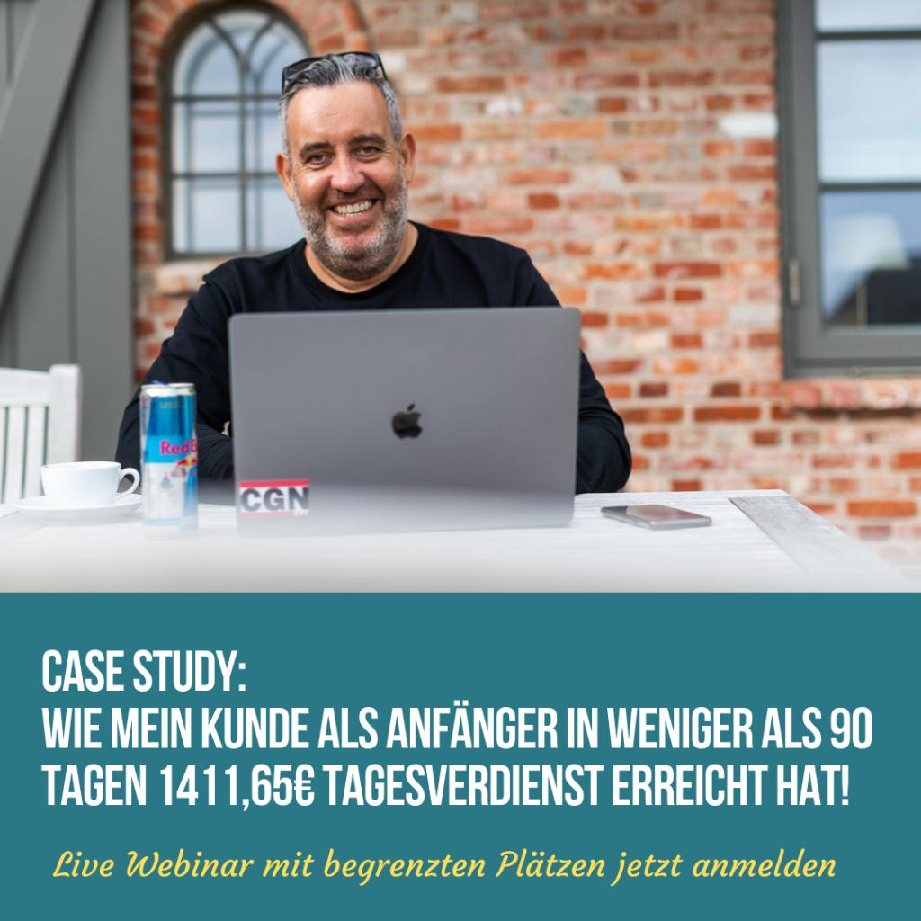 Webinar vom Affiliatekönig.