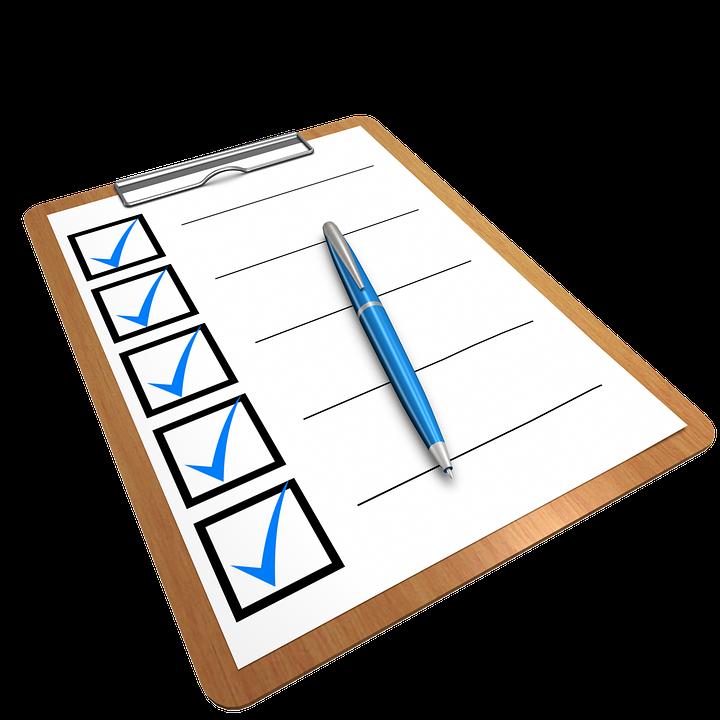 Kostenfreie Checkliste